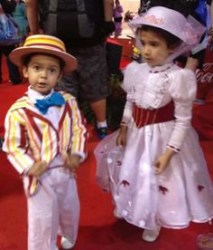 Kids Cosplay at D23