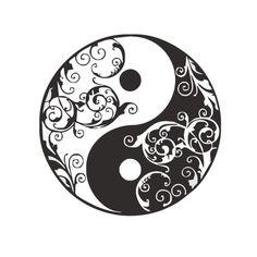 Maori Yin Yang Tattoo On Ankle photo - 4 Zen Doodle, Doodle Art, Mandala Tattoo, Mandala Art, Yen Yang, Purple Butterfly Tattoo, Tatoo 3d, Paisley Background, Traditional Tattoo Flowers