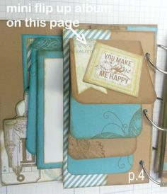 Terry Ann Diack --It's my Garage--I Can Craft In It!: Every Page a Pocket/interactive Mini Album Basic Instructions