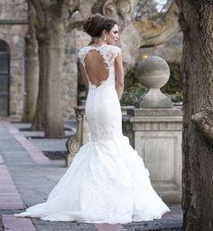 Nice Backless Wedding Dresses Vera Wang fall 2015 backless wedding ...