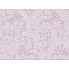 Set de table Cérémonie Garnier-Thiebaut - Modèle : Mille rubans - Set de table en coton anti-tache - Coloris : blush