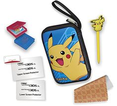 RDS Industries, Nintendo 3DS Game Traveler Essentials Pack – Blue with Pikachu  http://gamegearbuzz.com/rds-industries-nintendo-3ds-game-traveler-essentials-pack-blue-with-pikachu/