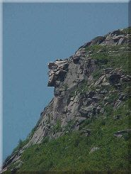 Photo - Old Man of the Mountains Before Collapse in 2003