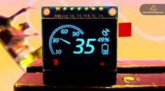 The Beginner's Guide to Display Text, Image & Animation on OLED Display by Arduino - Raspberry PI # Arduino - Arduino Bluetooth, Arduino Lcd, Arduino Programming, Arduino Board, Computer Projects, Robotics Projects, Diy Electronics, Electronics Projects, Electrical Projects