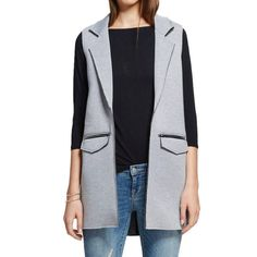 File: TARGET! R J Couture Sleeveless Scuba Blazer