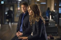 stana katic and nathan fillion #castle 8x04