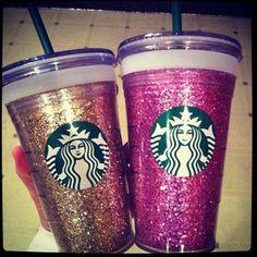 Starbucks Glitter Cup