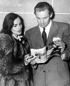 Brenda Marshall & William Holden