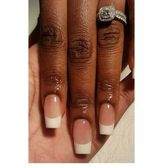 French Manicure Nails By
