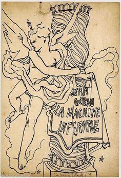 La Machine Infernale, 1937 by Jean Cocteau (French, 1889-1963)