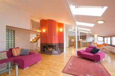 5 bedroom loft apartment for sale, Vozová, Prague Vinohrady Apartments For Sale, Prague, Loft, Boutique, Bedroom, Furniture, Home Decor, Decoration Home, Room Decor