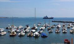 the little port of Castiglioncello