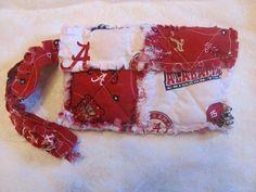 Alabama Crimson Tide BAMA Clutch bag BAMA by morethanbearscrafts