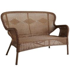 Coco Cove Settee - Honey