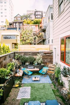 Little Hidden Luxuries: Secret Outdoor Spaces in the City | Apartment Therapy