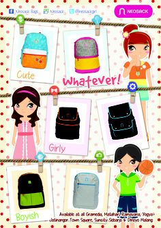 Girls Backpack by Neosack