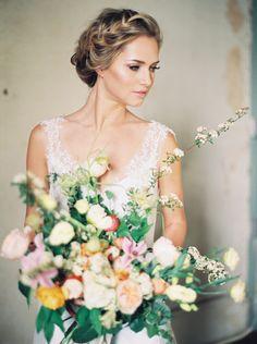Organic French Bridal Inspiration