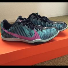 Nike Long Distance Running Spikes BRAND NEW IN BOX! Womens Nike Long Distance Running Spikes. Size 6.5. Nike Shoes Athletic Shoes