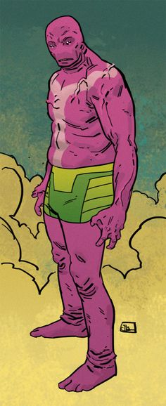 "Evan ""Doc"" Shaner's Superman Villains... Love this guy's style!"