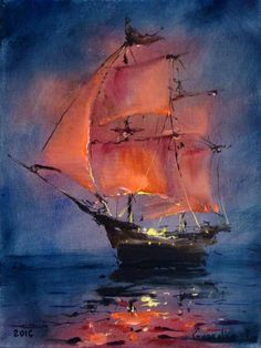 Find out more about these 6 methods all in regards to Ship Paintings, Seascape Paintings, Landscape Paintings, Sailboat Painting, Blue Abstract Painting, Art Du Monde, Boat Art, Ship Art, Watercolor Paintings