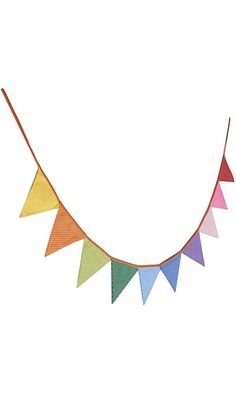 VORCOOL 10pcs Triangle Decoration Banner Flags Party Bunting Banners Polka Dotted Best Price