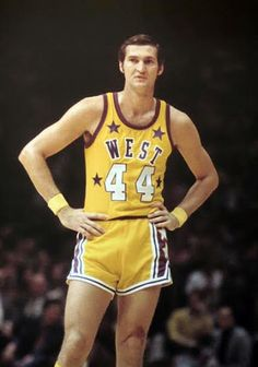 How the West was won Jerry West of the home team Los Angeles Lakers wore his name on both front and back at home was named MVP at the 1972 NBA All-Star Game from The Forum in Inglewood, CA Wvu Basketball, Love And Basketball, Basketball Legends, Basketball Pictures, Basketball Players, Virginia Basketball, Larry Bird, Nba Stars, Sports Stars