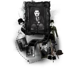Charlie Chaplin, created by janeaustenaddict on Polyvore