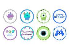 monster inc free printables - Google Search