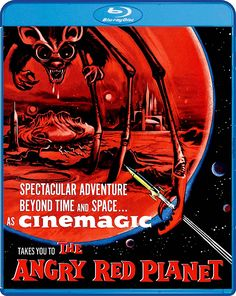 THE ANGRY RED PLANET BLU-RAY (SCREAM FACTORY)