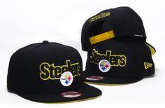 NFL PITTSBURGH STEELERS SNAPBACK NEW ERA BLACK 111 9462|only US$8.90