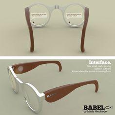 #BabelFisk  A visual Hearing Aid