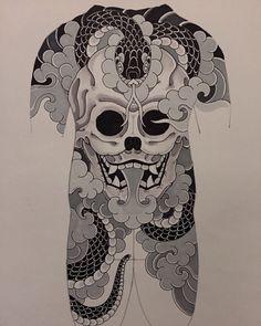 Japanese Tattoo Designs, Japanese Tattoo Art, Japanese Sleeve Tattoos, Japanese Art, Girl Back Tattoos, Tattoo Girls, Lower Back Tattoos, Bunny Tattoos, Whale Tattoos