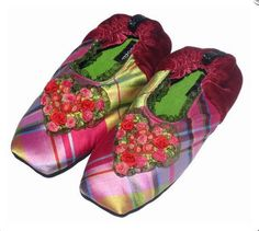 548d04aff51 Goody Goody slippers include a large selection of silk slippers