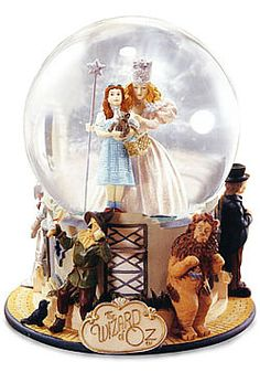 No way... This is the snow globe I had when I was younger... It broke and left A scar on my knee. I'd give anything for another