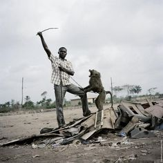 From The Hyena and other Men Photographs by Pieter Hugo