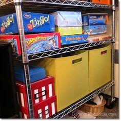 #organizing a kid's playroom. #TRINITYproducts #spon