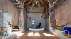 Australian designers take over the restored oratory in one of Milan's oldest churches