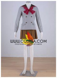 Sailormoon Crystal Rei Hino School Uniform Cosplay Costume