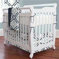 Luxury Trendy Crib Bedding