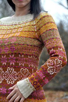 Ravelry: Project Gallery for Next year in Lerwick pattern by Tori Seierstad