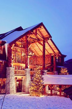 Best Winter Lodges dream honeymoon idea…not exactly this place but a lodge somewhere The Whiteface Lodge, Lake Placid, NY Winter Lodge, Christmas Lodge, Christmas Time, Lake George, Travel And Leisure, Lodges, Dream Vacations, The Great Outdoors, Alaska