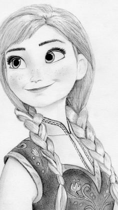 Cute drawing of Anna