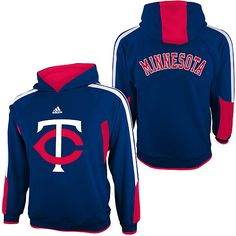 Twins Youth Long Sleeve Popover Hood