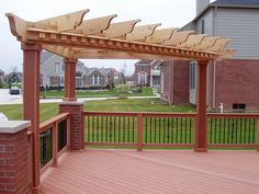 There are lots of pergola designs for you to choose from. You can choose the design based on various factors. First of all you have to decide where you are going to have your pergola and how much shade you want. Diy Pergola, Hot Tub Pergola, Building A Pergola, Corner Pergola, Small Pergola, Pergola Canopy, Pergola Attached To House, Pergola Swing, Metal Pergola