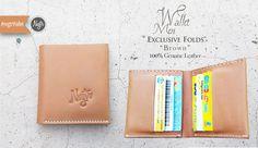 "#nvgtrWallet 'Men. ""Exclusive Folds"" - Brown. 100% Genuine Leather. IDR 165K. SMS / WhatsApp: 08562101653"