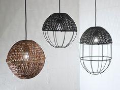 studio ljung & ljung POP bamboo lampshades at stockholm furniture fair - designboom | architecture & design magazine