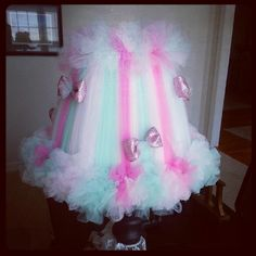 Tutu Lamp Shade by Totally TutuLicious Bowtique