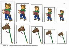 cowboy van klein naar groot Letter Matching, Matching Games, Math For Kids, Crafts For Kids, Westerns, Wild West Theme, Western Wild, Preschool Math, Le Far West