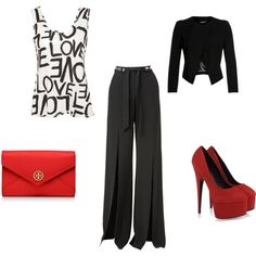 Uptown Girl by michelewr on Polyvore