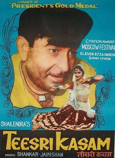 Teesri Kasam (1966) - Best Bollywood roadtrip movies